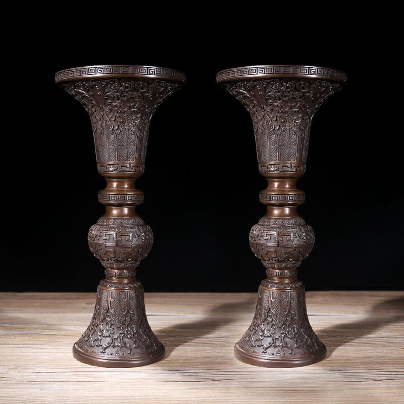 五供佛具 香炉花瓶烛台 佛教用品佛前供奉家居摆件
